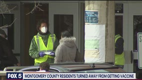 Seniors in Montgomery County turned away from confirmed COVID-19 vaccine appointments