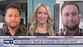 FOX 7 Discussion: Will President Trump be punished for Capitol riots?