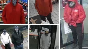 Suspect sought in four gas station robberies across Austin area