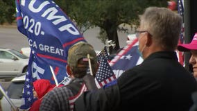 Trump supporters rally at Texas State Capitol