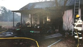 Candle believed to be cause of fire that destroys Fayette Co. home
