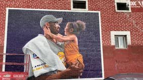 Murals pay tribute to Kobe, Gigi Bryant in LA and around the world one year later