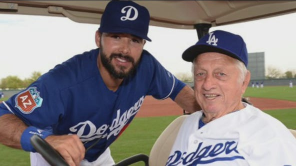 Remembering Tommy Lasorda: Retired Dodgers outfielder Andre Ethier shares his memories