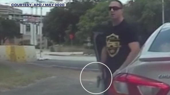 Video: Off-duty officer pulls gun on other driver after being rear-ended