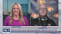 FOX 7 Discussion: Firefighters union seeking binding arbitration option