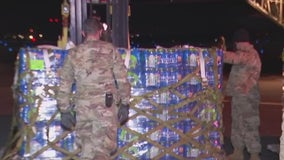 Thousands of water bottles flown from Fort Worth to Austin