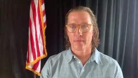 Matthew McConaughey announces upcoming virtual benefit to help Texas