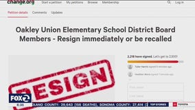 Entire Oakley school board resigns, apologizes for 'callous remarks'