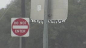 Texas road crews continue to monitor driving conditions