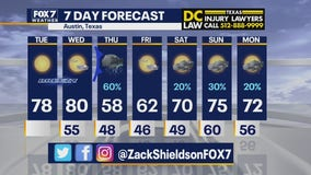 Noon weather forecast for February 23, 2021
