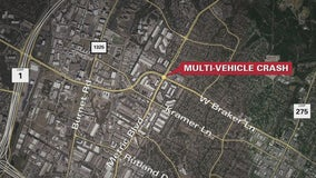 5 left with injuries after multi-vehicle crash in North Austin