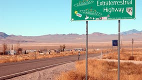 80 acre cattle ranch bordering Area 51 for sale - including mailbox sought out by alien enthusiasts