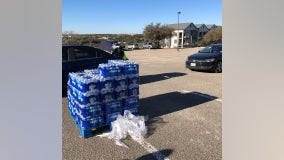 Where to get free water, meals in Austin area on Monday, Feb. 22