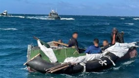 Coast Guard rescues five Cuban men near Florida coast after 16 days at sea