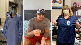 Gronk surprises 2 Tampa Bay area health care workers with Super Bowl tickets