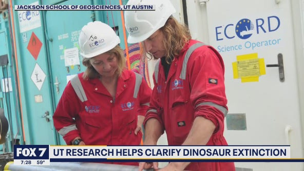 UT research instrumental in determining extinction of the dinosaurs