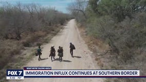 FOX 7 Discussion: Immigration influx at southern border