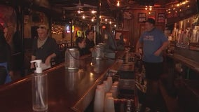 Some downtown bars open at 100 percent capacity Wednesday night