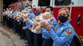 AFD receives pallets of teddy bears from Georgia