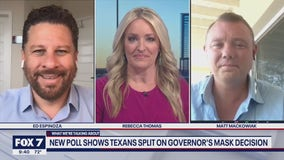 FOX 7 Discussion: Poll shows Texans split on lifting mask mandate