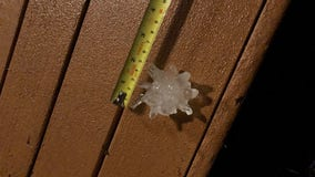 Severe weather brings hail to Central Texas again this week