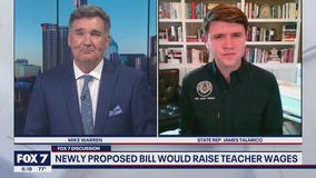FOX 7 Discussion: State Rep. Talarico on bill to raise teacher wages