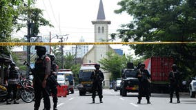 20 injured in suicide bombing at Indonesian church during Palm Sunday Mass