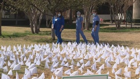 Texas Health holds memorial service to mark one year since COVID-19 pandemic began