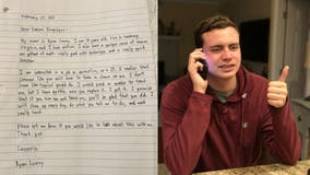 'Take a chance on me': 20-year-old with autism posts letter on LinkedIn to future employers