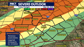 Another round of severe weather possible in Central Texas tonight