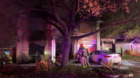 South Austin house fire leaves two people hospitalized