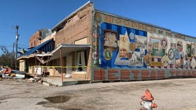 Severe weather causes significant damage to buildings in Bertram