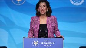 Senate confirms Rhode Island Gov. Gina Raimondo as commerce secretary