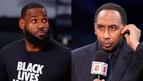 ESPN's Stephen A. Smith urges LeBron James to be more transparent with COVID vaccine decision