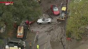 Mudslide aftermath: Evacuation orders lifted for Bond Fire burn area