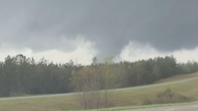 Multiple twisters touch down in Alabama, Mississippi as wave of tornadoes moves through South