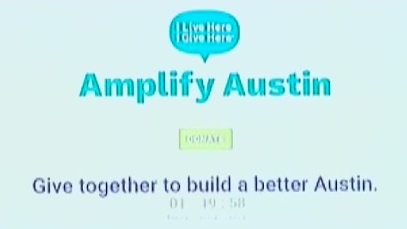 Donating to local nonprofits on Amplify Austin Day