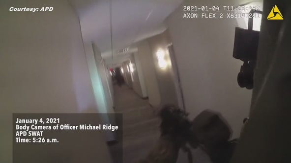 APD release video of Springhill Suites officer involved shooting
