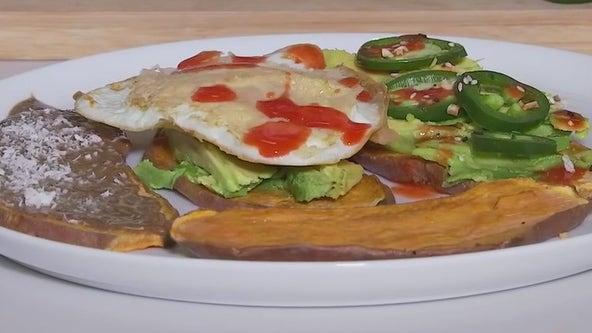Sweet potato toast recipe from FOX 7 Austin's Tierra Neubaum