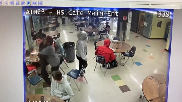 'Training pays off': Security guard saves choking student with Heimlich maneuver