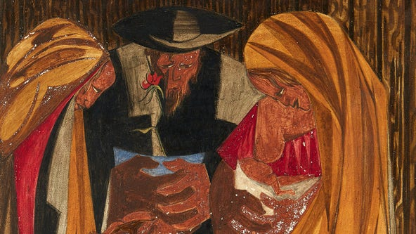 Another Jacob Lawrence painting located after 60 years