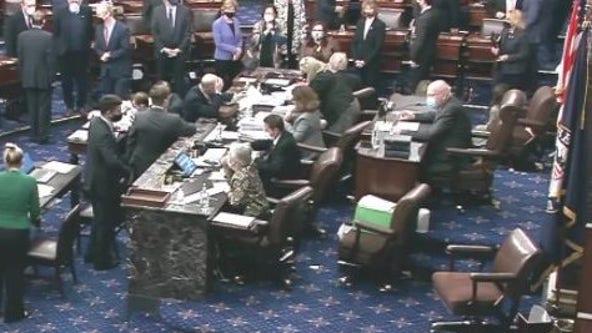 Biden, Dems prevail as Senate OKs $1.9T virus relief bill