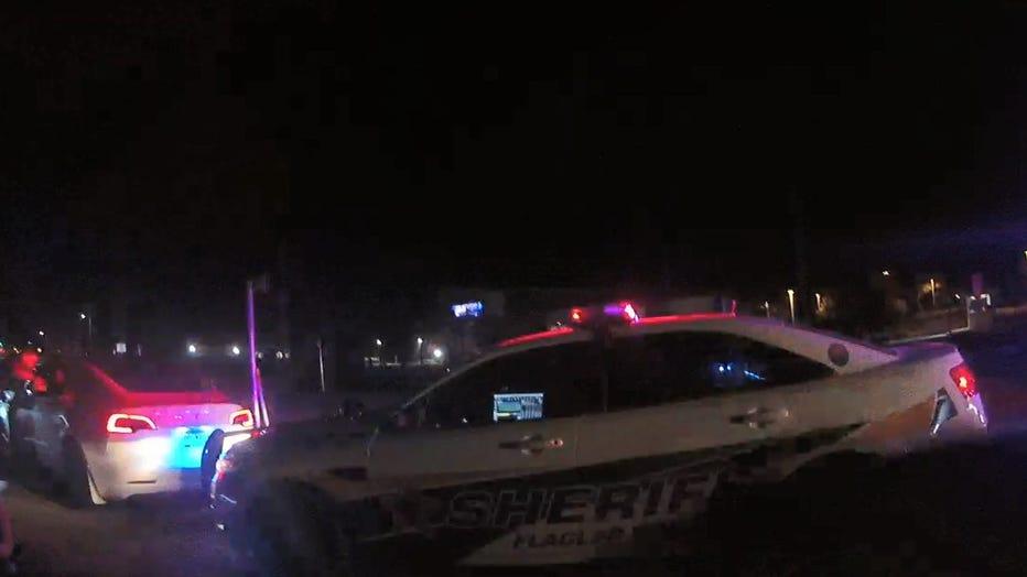 Smart Car Hits Sheriff's Vehicle