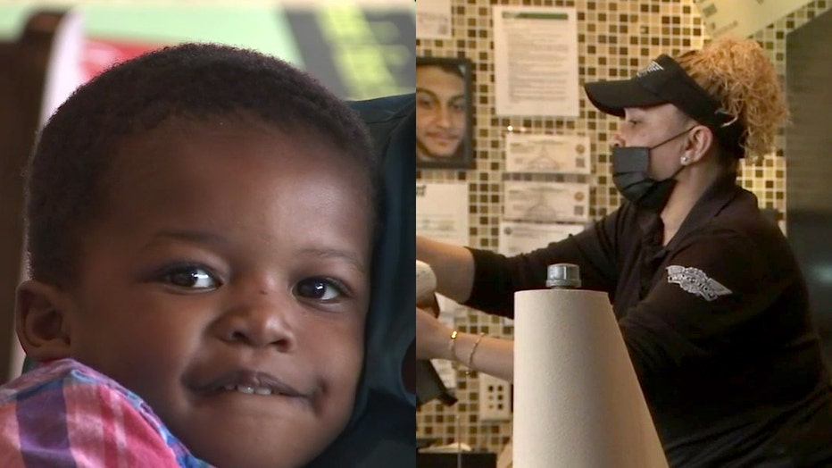wingstop manager saves toddler