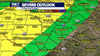 Stay weather aware: Slight risk of severe storms in Hill Country
