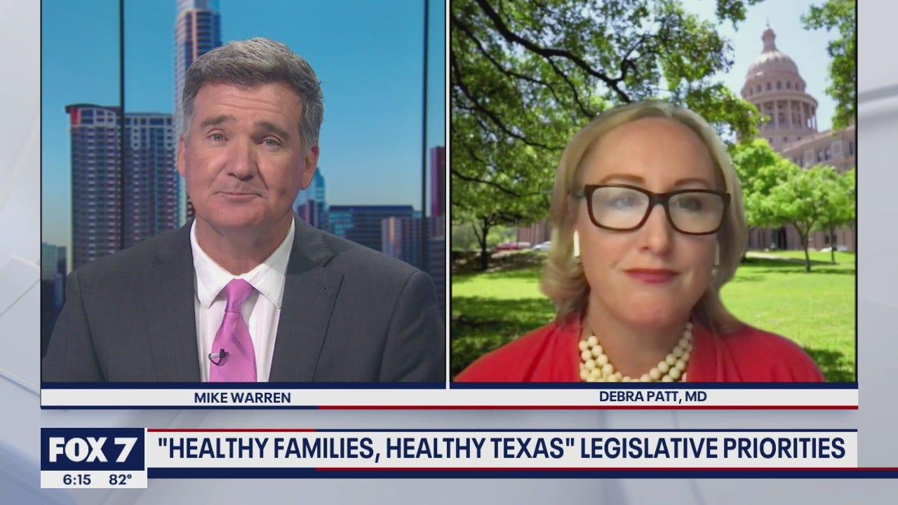 "FOX 7 Discussion: ""Healthy families, Healthy Texas"" legislative priorities"