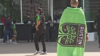 Crowds gather to watch Austin FC play inaugural match against LAFC
