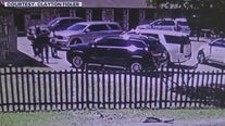 Arrest captured by security cam possibly related to N. Lamar shooting