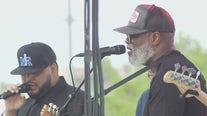 Austin community enjoys socially-distanced live music on Easter Sunday