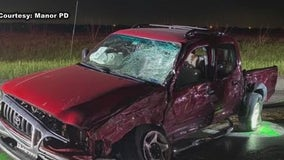 Two Manor HS students injured in early-morning crash